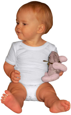 • Exceptionally soft 70% Bamboo Rayon, 30% Cotton Baby Rib Knit Short Sleeve $15.99